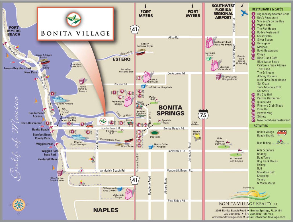 Bonita Village About Bonita Springs